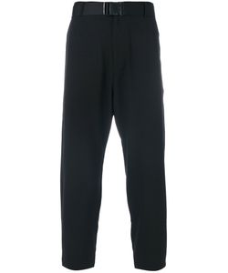 D. Gnak | Strap Belted Cropped Trousers Men