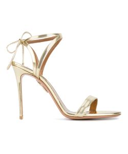 Aquazzura | Linda Open Toe Sandals 35 Leather