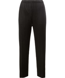 PLEATS PLEASE BY ISSEY MIYAKE | Pleated Straight Cropped Trousers
