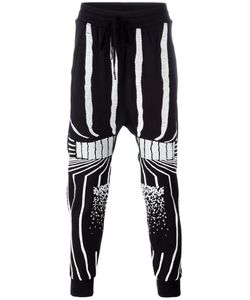 11 BY BORIS BIDJAN SABERI | Stripe Patterns Sweatpants Size Medium