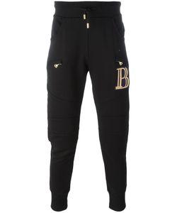 Pierre Balmain | Zipped Pockets Sweatpants 48 Cotton
