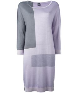 Lorena Antoniazzi | Colour Block Knitted Dress 46 Silk/Cashmere