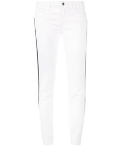 Fay | Side Stripe Cropped Trousers