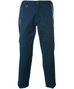 Christian Pellizzari   Cropped Trousers 50 Cotton/Spandex/Elastane/Viscose