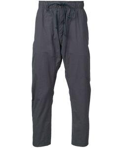 KAZUYUKI KUMAGAI | Cropped Track Pants 1 Cotton/Nylon/Polyurethane