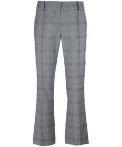 Cedric Charlier | Cédric Charlier Cropped Slim-Fit Trousers 40 Cotton/Rayon