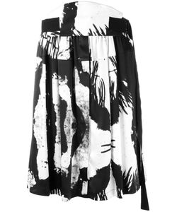 Ann Demeulemeester | Gathered Front A-Line Skirt