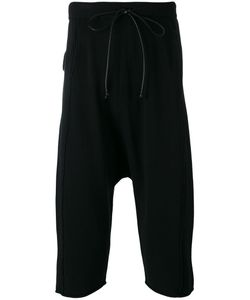 Isabel Benenato | 3/4 Drop Crotch Trackpants