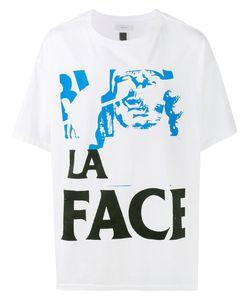 FACETASM   Printed La Face T-Shirt