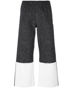 Issey Miyake Cauliflower   Flared Cropped Trousers