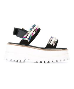 Suecomma Bonnie | Platform Sandals 37.5 Synthetic Resin/Glass/Metal Other/Polyester