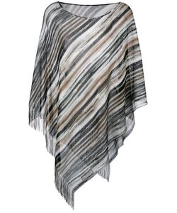 Missoni | Striped Asymmetric Knit Top