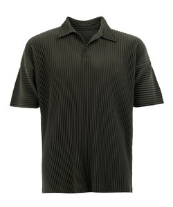 HOMME PLISSE ISSEY MIYAKE | Homme Plissé Issey Miyake Pleated Polo Shirt 3