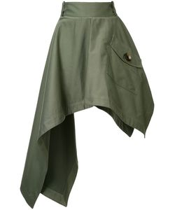 Monse | Pointy Asymmetric Skirt 2 Cotton