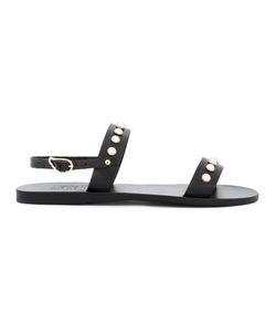 ANCIENT GREEK SANDALS | Сандалии Clio Pearls