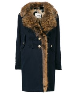 BAZAR DELUXE | Fur Trim Coat Women