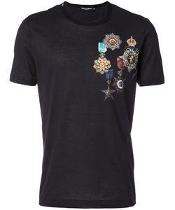 Dolce & Gabbana | Футболка С Принтом В Виде Медалей