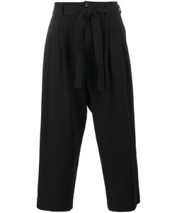 THE VIRIDI-ANNE | Cropped Rope Belt Trousers Size 4