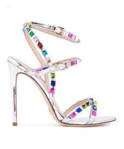 GIANNI RENZI | Stud Embellished Sandals