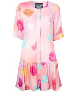 BOUTIQUE MOSCHINO | Print Dress 48 Rayon