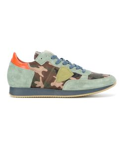 Philippe Model | Tropez Camouflage Sneakers 43 Leather/Suede/Rubber