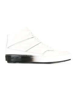 Alejandro Ingelmo | Panelled Hi-Tops 40 Calf Leather/Leather/Rubber