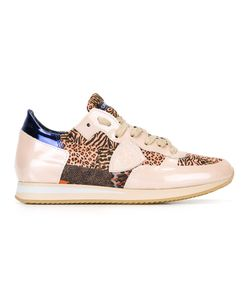 Philippe Model | Animalier Sneakers 39 Leather/Rubber/Polyester