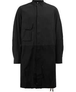 ZIGGY CHEN | Concealed Placket Coat 48 Cotton
