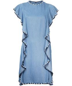 Huishan Zhang | Embellished Ruffle Dress