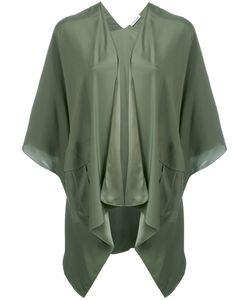 P.A.R.O.S.H. | P.A.R.O.S.H. Cropped Sleeve Waterfall Jacket