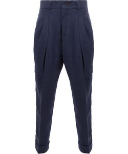 Haider Ackermann | High-Rise Tape Trousers 48 Cotton/Linen/Flax/Rayon