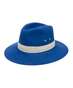 Maison Michel | Contrast Trim Hat Rabbit Fur