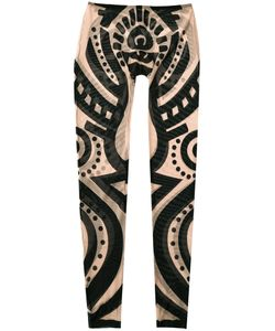 Dsquared2 | Tribal Tattoo Leggings Size Medium