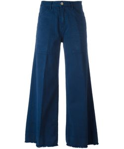 Twin-set | Wide-Legged Cropped Trousers 31