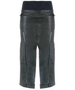 Andrea Bogosian | Leather Midi Skirt
