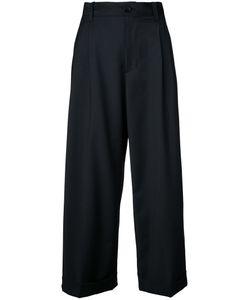 FACETASM | Cropped Pants 2 Polyester/Polyurethane/Wool