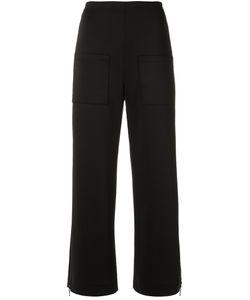 GLORIA COELHO | Straight Leg Trousers Womens Size 44 Polyester/Spandex/Elastane