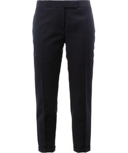 Thom Browne | Tailo Cropped Skinny Trousers 40 Silk/Wool