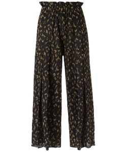 Gig | Wide Leg Crop Knit Trousers