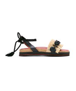 Sarah Chofakian | Leather Flat Sandals