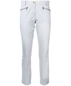 Veronica Beard | Zip Pocket Cropped Trousers