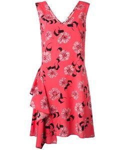 P.A.R.O.S.H. | Платье Split С Цветочным Принтом