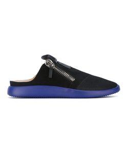 Giuseppe Zanotti Design   Zip-Detail Slippers