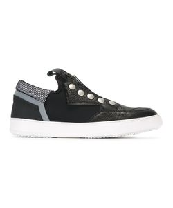 Bruno Bordese | Stud Detail Slip-On Sneakers 39 Leather/Rubber/Leather