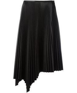 Cedric Charlier | Cédric Charlier Asymmetric Pleated Skirt 44 Polyester