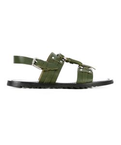 Pollini | Buckled Sandals Size 45