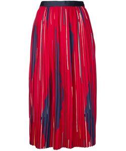 Cityshop | Pleated Printed Mid-Length Skirt