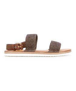 Casadei   Woven Sandals 39