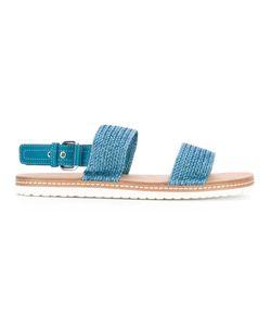 Casadei   Woven Sandals 41