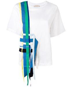 Erika Cavallini | Woven Detail T-Shirt Size Large